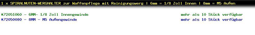 http://jafiwi.de/egun-bestand/72051060-72050080_1_x_SPIRALNUTENWERGHALTER_zur_Waffenpflege_mit_Reinigungswerg__6mm__18_Zoll_Innen__8mm__M5_Aussen_.jpg?1607186892455