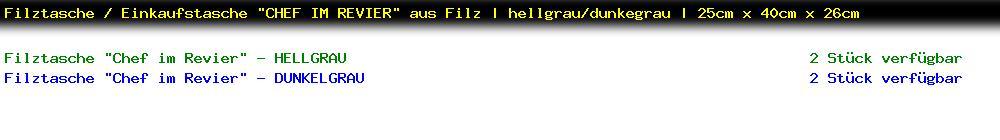 http://jafiwi.de/egun-bestand/77821000_Filztasche__Einkaufstasche_CHEF_IM_REVIER_aus_Filz__hellgraudunkegrau__25cm_x_40cm_x_26cm.jpg?1593002880140