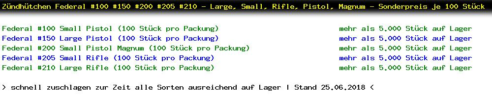 http://jafiwi.de/egun-bestand/820100_Zuendhuetchen_Federal_100_150_200_205_210__Large_Small_Rifle_Pistol_Magnum__Sonderpreis_je_100_Stueck.jpg?1484302362866