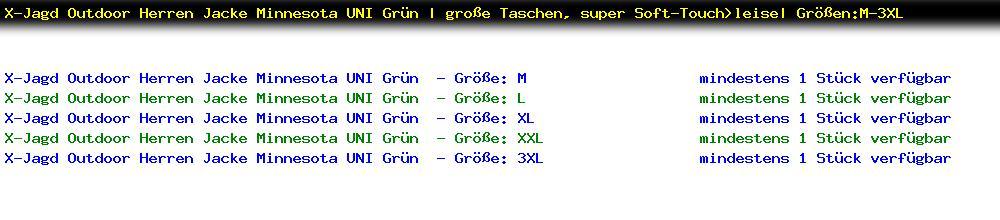 http://jafiwi.de/egun-bestand/B1877X_XJagd_Outdoor_Herren_Jacke_Minnesota_UNI_Gruen__grosse_Taschen_super_SoftTouchleise_GroessenM3XL.jpg?1566914240871
